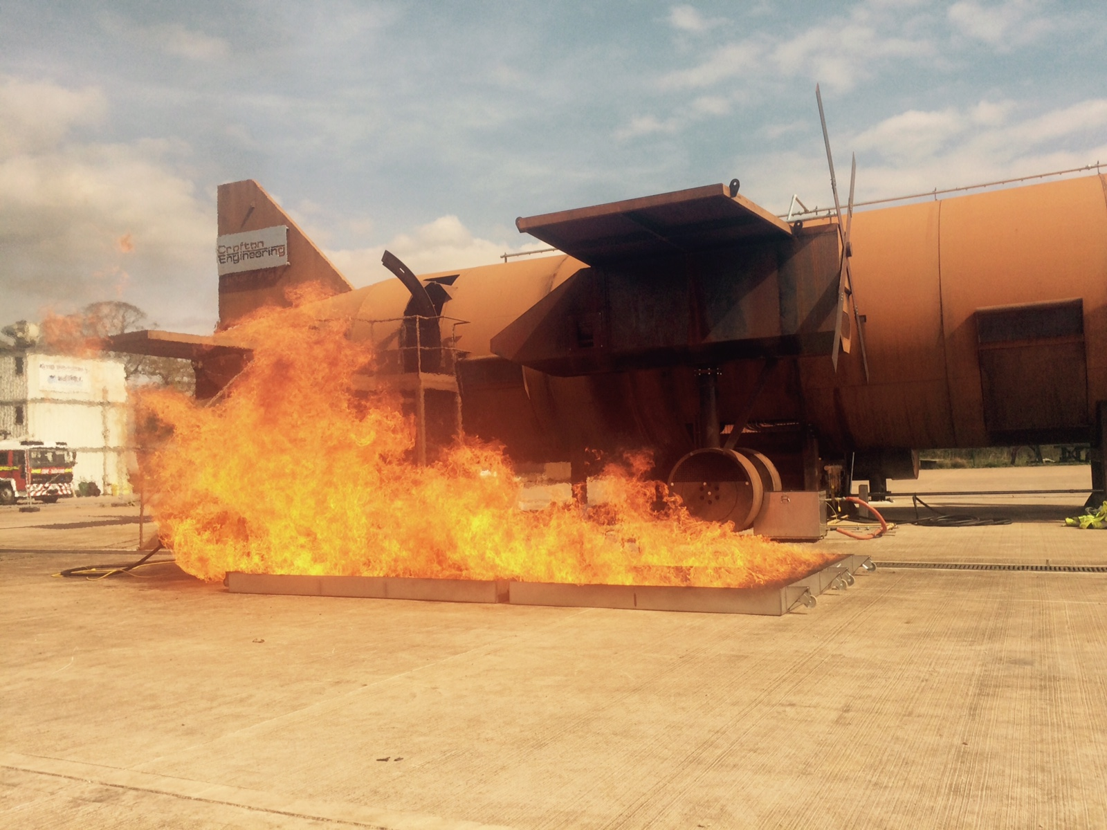 Exeter AFT Testing live fire simulator